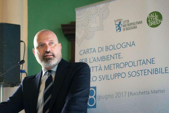Bologna, 08/06/2017 - Firma Carta di Bologna per l'ambiente - foto di Massimo Paolone