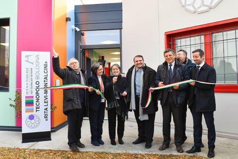 Taglio nastro inaugurazione Fondazione IRET